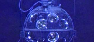 Neutrinos und Biolumineszenz im Mittelmeer