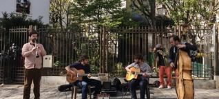 Illegale Kultur-Veranstaltungen am Montmartre