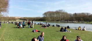 Versailles ohne Touristen