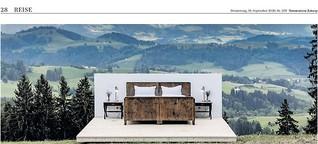 Ein Hotelbett unter Sternen. Die Säntis Suite in der Ostschweiz