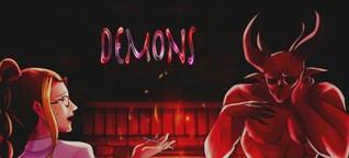 Throw away your saviour complex with Justine Eltakchi's hyperpop single, 'Demons'.
