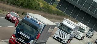 Berliner Spedition testet Elektro-Lkw auf der Straße