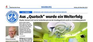 Artikelserie: Partikeltherapie in Marburg