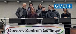 Queeres Göttingen sorgt sich um Finanzierung - Trittin und Stobbe versprechen Einsatz