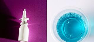 Infektionsschutz: Lässt sich Corona weggurgeln?