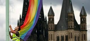 """Aktion #liebegewinnt in der Kirche: """"Die Homophobie macht mich wütend"""""""