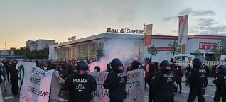 Hunderte demonstrieren für Jugendzentrum Potse in Berlin