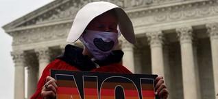 USA: Supreme Court verhandelt - Das Recht auf Abtreibung ist in Gefahr
