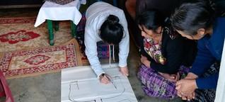 Aktion Familienfasttag: Hilfe für Frauen in Guatemala