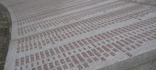 Erinnerung an den Völkermord in Srebrenica