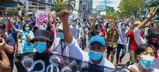 In Myanmar entsteht bewaffneter Widerstand - Bürgerkrieg scheint unausweichlich