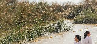 Heiliges Wasser, verminter Boden