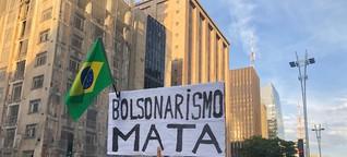 In Brasilien neuer Proteststurm nach Bolsonaro-Rede im TV