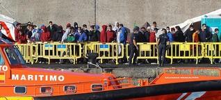 Immer mehr Migranten erreichen die Kanaren | tagesschau.de