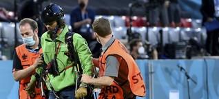 Nach dem EM-Vorfall in München: Greenpeace-Pilot aus Pforzheim zeigt sich erleichtert