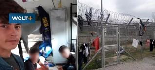 Minderjähriger Migrant: Fünf Monate im Elend von Moria