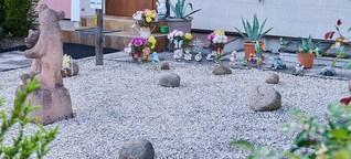 So lässt sich ein Schottergarten wieder in einen Naturgarten umwandeln