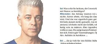 """Comedian Michael Mittermeier über Corona und das neue """"Zapped!"""""""