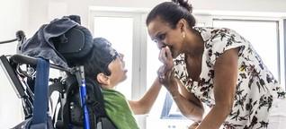 Im Kampfmodus: Wie eine Alleinerziehende ihren schwerstbehinderten Sohn großzieht