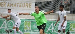 Finaltag der Amateure: Union Fürstenwalde zieht mit Köpfchen in den DFB-Pokal ein