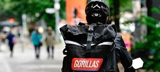 Kündigungen bei Gorillas lösen neue Proteste aus
