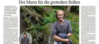 Eisi Gulp gibt auf der Luisenburg einen schrägen Boandlkramer