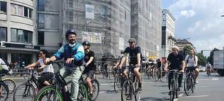 Fahrrad-Demo der Gorillas-Rider - mehrere Filialen kurzzeitig geschlossen