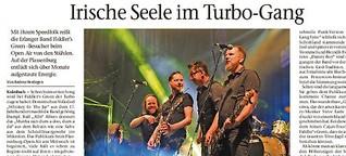 Fiddlers Green rocken die Plassenburg mit Hochgeschwindigkeits-Folk