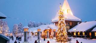 Santa-Claus-Express nach Rovaniemi, Finnland: Durch die Nacht zum Weihnachtsmann