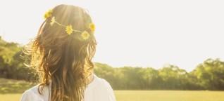 Blumenkranz als Kopfschmuck: Revolution und Biedermeier