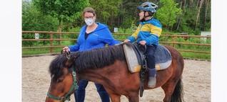 """Reittherapeutin: """"Pferde nehmen den Menschen, wie er ist"""""""