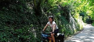 Mit dem Fahrrad bis nach Norwegen: Konstanzer Studentin radelt für den guten Zweck - und bald hat sie Deutschland durchquert