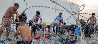 """Arzt über das Lager Kara Tepe auf Lesbos: """"Es ist ein Gefangenenlager"""""""