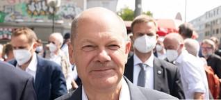 Olaf Scholz steht auf verlorenem Posten