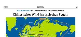Neue Seidenstraße: Wie das Mega-Projekt in Osteuropa gesehen wird.