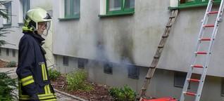 Kellerbrand in Döbeln: Betroffene müssen in Notunterkünfte