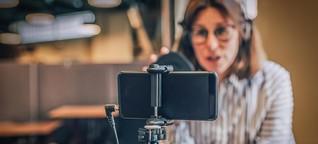 Frauenstimmen in Videokonferenzen: Komprimiertes Charisma