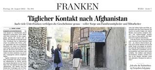 Täglicher Kontakt nach Afghanistan