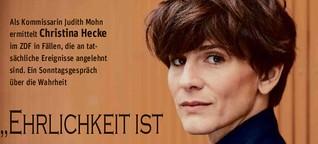 """Christina Hecke ermittelt wieder beim ZDF-Krimi """"In Wahrheit"""" im Saarland"""
