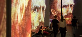 """München: Ausstellung """"Van Gogh Alive"""" in Utopia-Halle"""