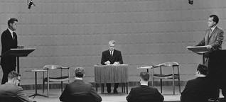 Kennedy vs. Nixon 1960: Die Mutter aller TV-Duelle