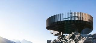 Hoch hinaus - Architektur und Kunst in 3.200 Metern Höhe
