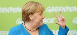 Greenpeace: Merkels bemerkenswerte Lobrede zur 50-Jahrfeier - WELT