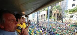 Anti-demokratische Machtdemonstration in Brasilien