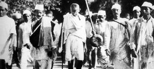 Indiens 9/11 - Als Gandhi den passiven Widerstand erfand