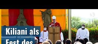 Kiliani als Fest des gesamten Bistums - Wie die Wallfahrtswoche auch in Corona-Zeiten gefeiert wird