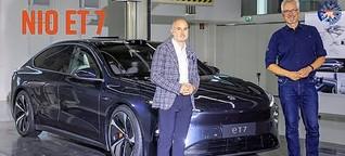 Nio ET 7: Mit dieser Limousine startet Nio in Deutschland