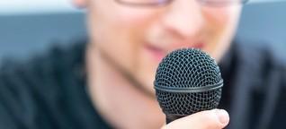 Warum klingt die eigene Stimme bei einer Aufnahme so anders?