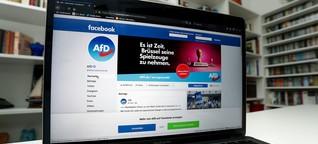 Diskussionen auf Facebook: Auf AfD-Seiten zählen Fakten nichts