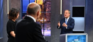Drei Erkenntnisse aus dem letzten TV-Triell vor der Bundestagswahl